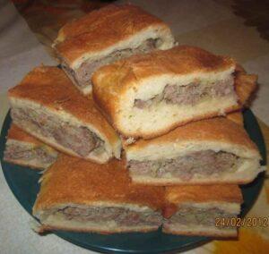 Пирог татарский
