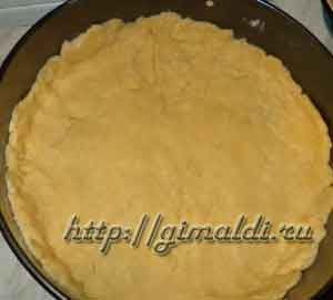 Мясной пирог с рисом