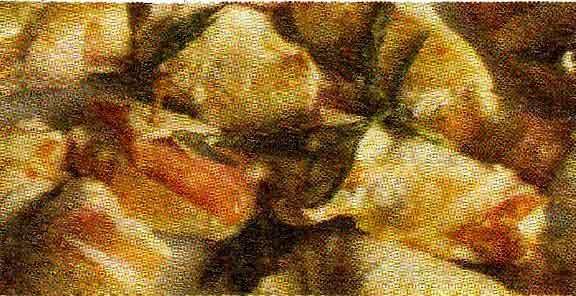 Рулеты из баклажанов и куриного филе