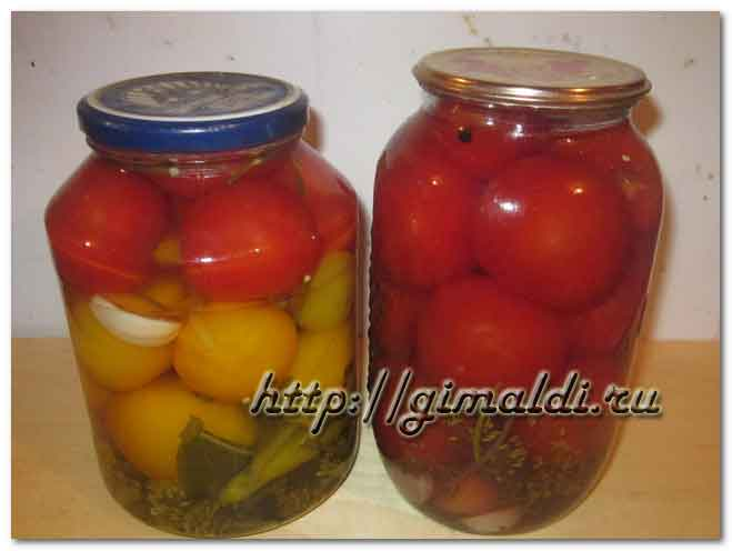 Консервированные помидоры