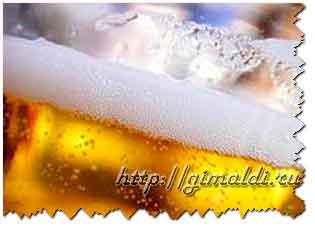 Пиво - не для аперитива