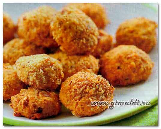 Сырное печенье с грецкими орехами