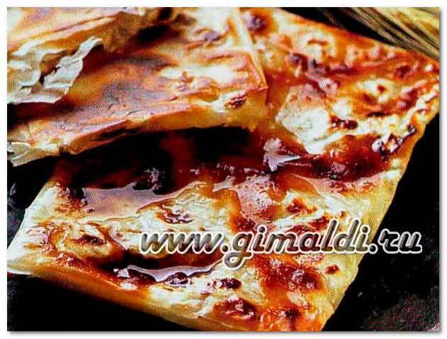 Баница- болгарский пирог с брынзой