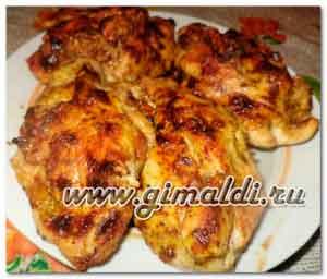 Куриное филе с начинкой