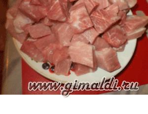 Тыква, фаршированная мясом