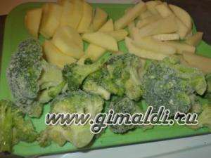 Свинина с овощами в горшочке