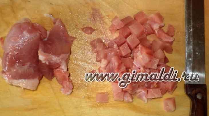 Мясная запеканка с брокколи