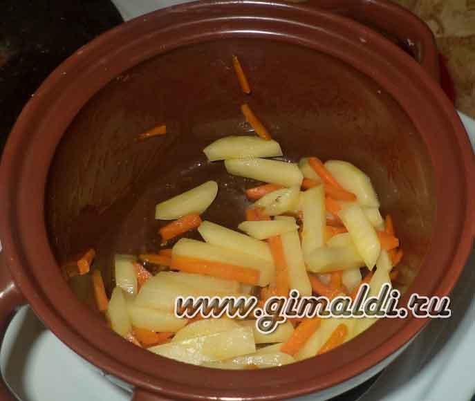 Сырный суп-пюре с брокколи