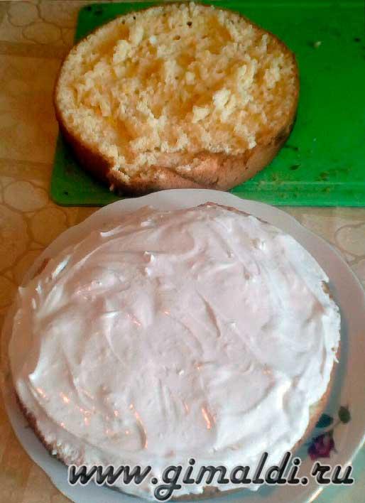Простой рецепт бисквитного торта