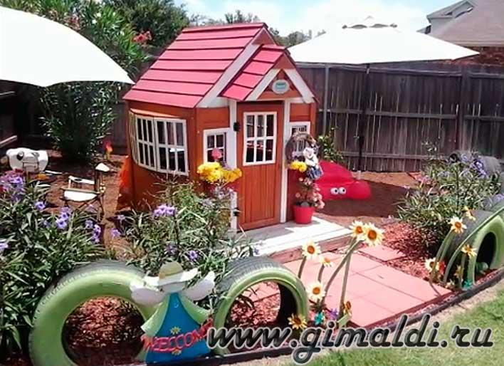 Детский отдых на даче