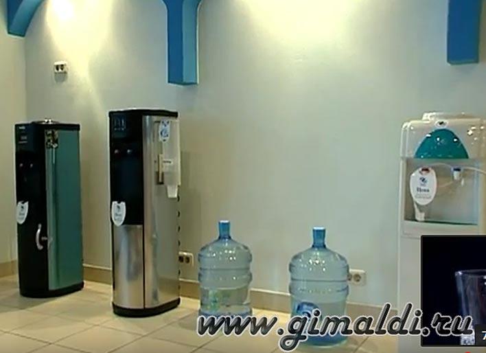 Кулер для воды - высокие технологии для здоровья