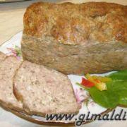 Хлеб мясной домашний