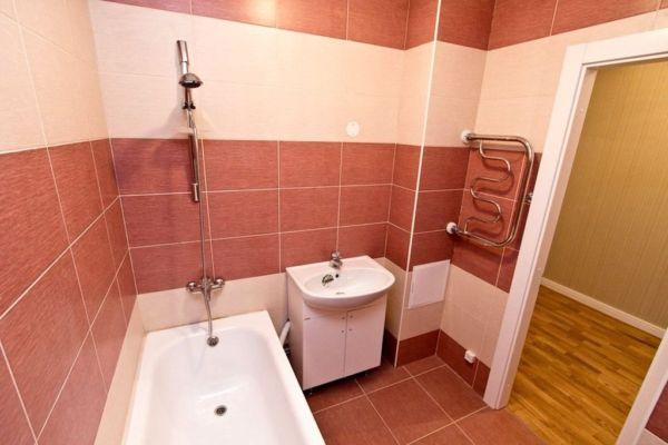Отделка ванной комнаты.