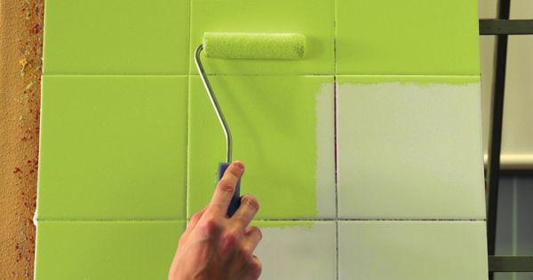 Как правильно покрасить плитку