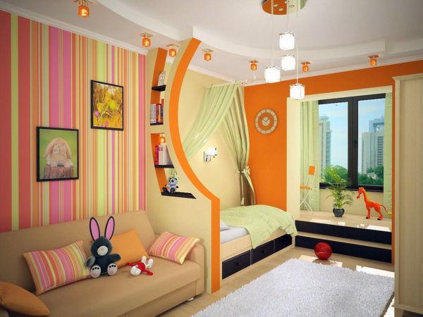 Дизайн детской комнаты для девочки и мальчика