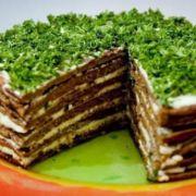 Торт печеночный вкусный рецепт