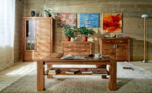 Мебель из натуральных материалов
