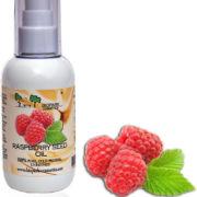 Природный солнцезащитный крем - масло семян малины