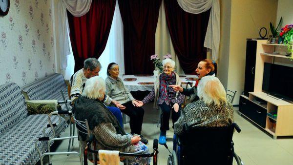 Частный дом престарелых в СПб
