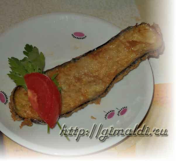 Закуска из баклажан