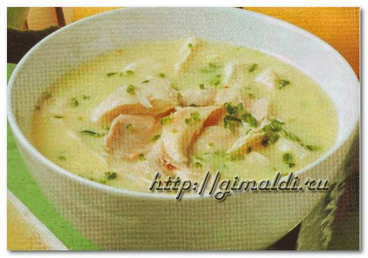 Индийский куриный суп