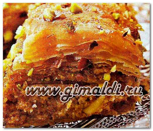 Баклава - восточная сладость