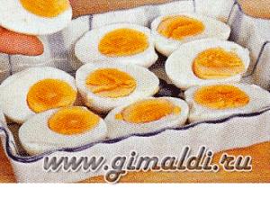 Яйца запеченные