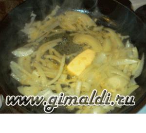 Рыба под сырной корочкой