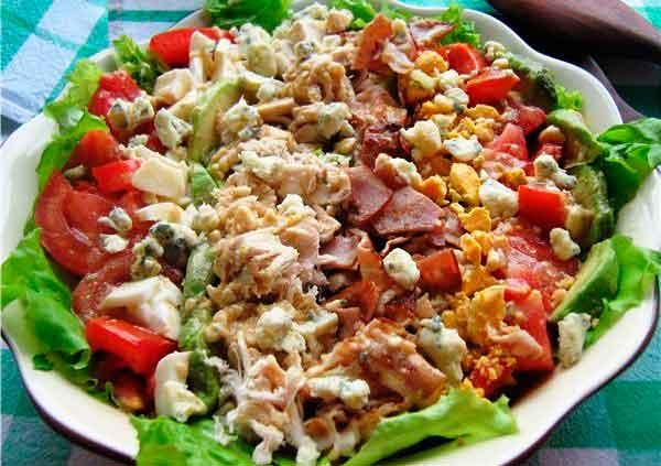 Салат кобба
