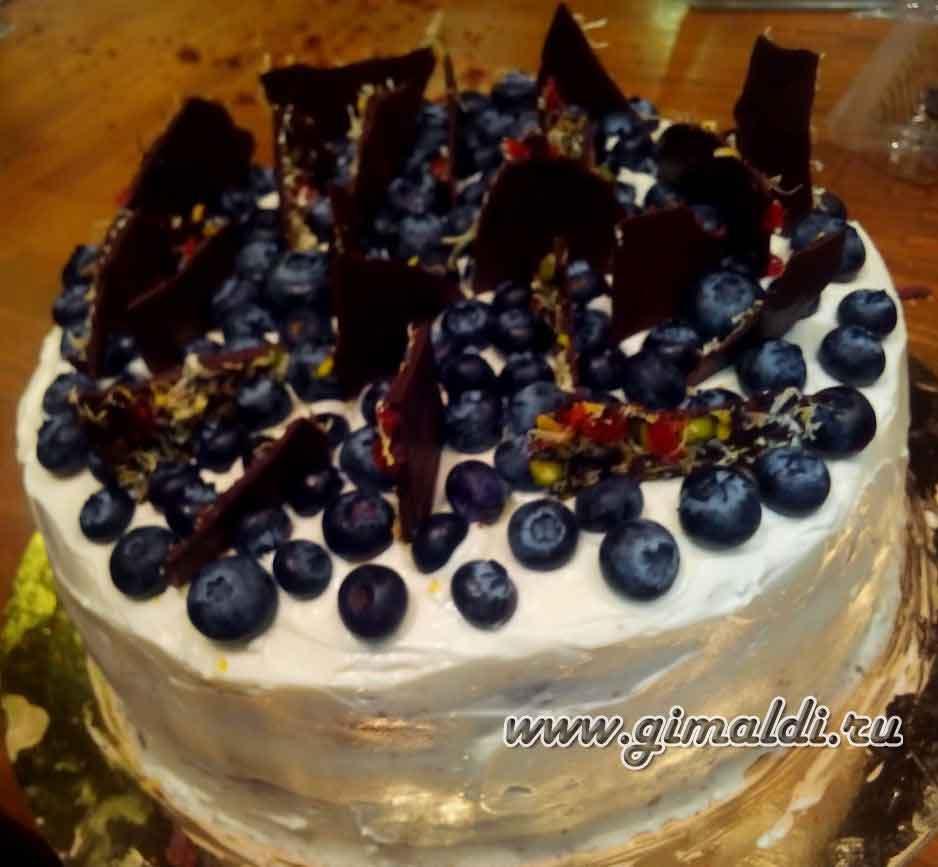 Шоколадный торт «Джеймс Браун»