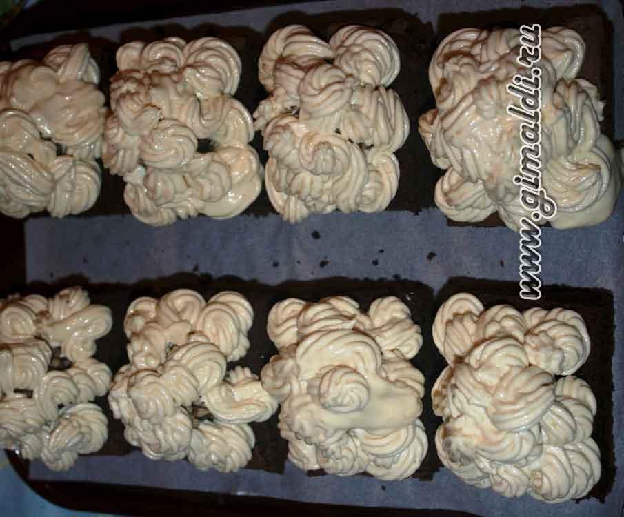 Пирожные «Шоколадное наслаждение»