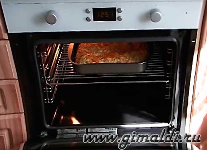 Пирог из макарон в духовке