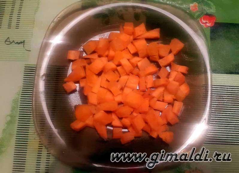 Морковь для индейки