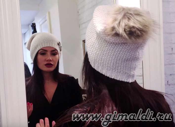Головной убор зимой девушкам