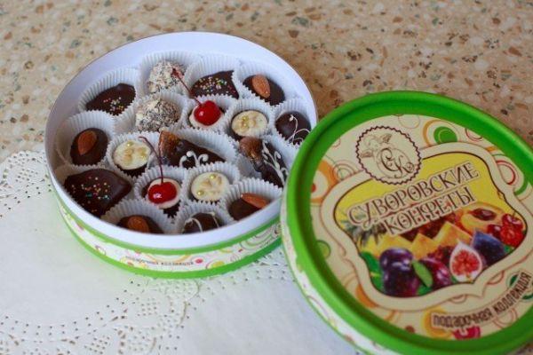 Набор конфет ручной работы