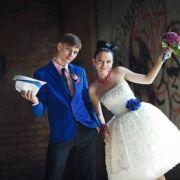 Свадебные платья в стиле стиляг
