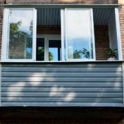 Алюминиевые рамы для балконов.