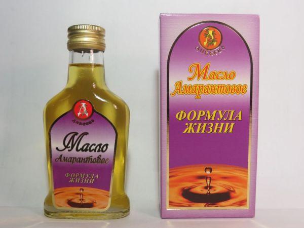 Амарантовое масло - свойства и применение.