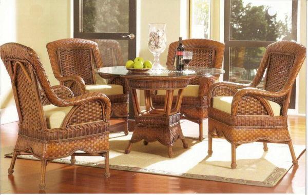 Мода на мебель из ротанга