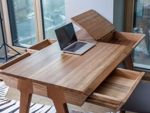 Купить стол из слэба дерева в Москве