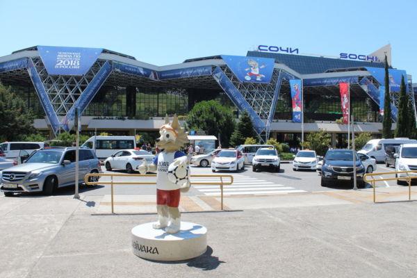 Где заказать такси из аэропорта Сочи