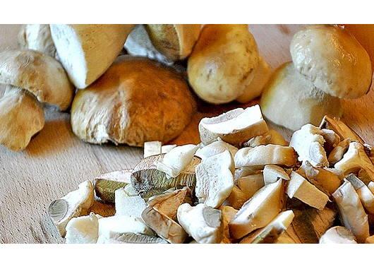 Белые грибы для капустняка