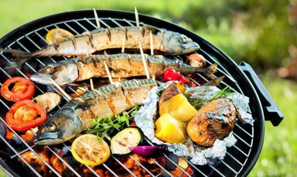 шашлык рыбный