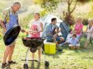 шашлык с семьёй