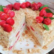 торт наполеон в домашних условиях